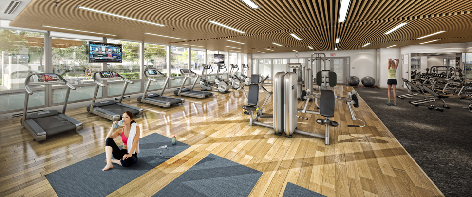 Amenities for Solo fitness gym